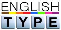 English Type logo